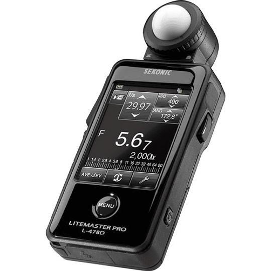 Fotometro Sekonic Litemaster Pro L-478D Light Meter - Image 3