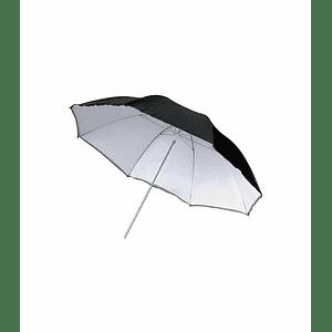 Sombrilla Reflectora Blanca de 110cm