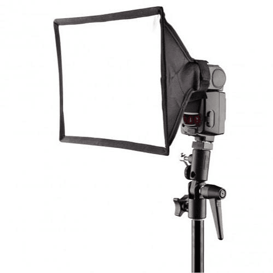 Mini Softbox para speedlite 15x17cm LS-05 - Image 3