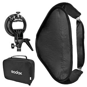 Godox pack softbox 40×40 más adaptador