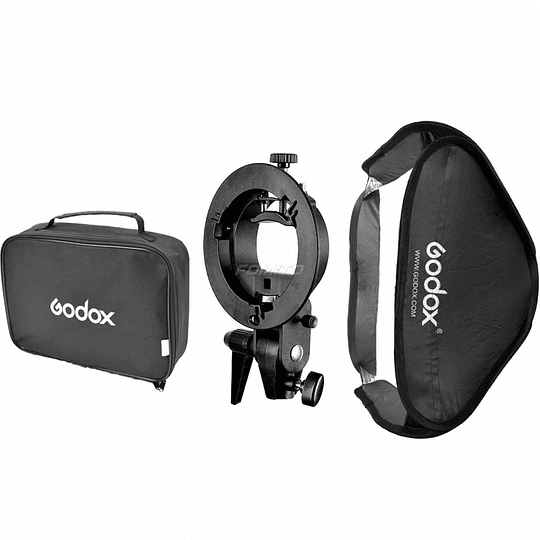 Godox Pack Softbox 80×80 + Adaptador