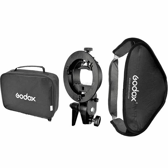 Godox SFUV8080 Softbox 80×80cm + Adaptador a Speedlite
