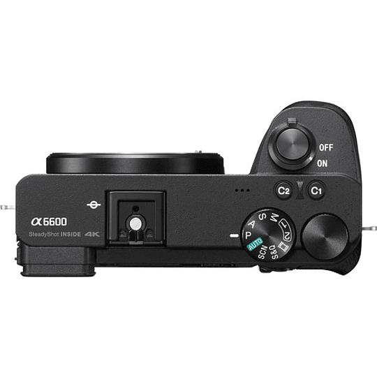 Sony Alpha a6600 Cámara Digital Mirrorless (Sólo Cuerpo) / ILCE-6600 - Image 5