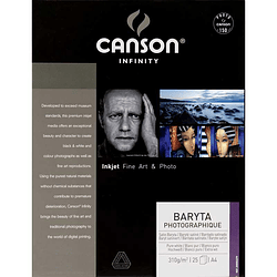 CANSON 200002279 Baryta Photographique 310gr A4 25 hojas