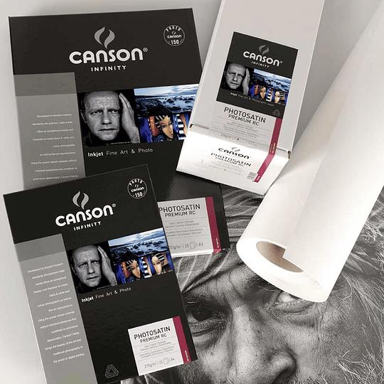 Canson 206231011 Photosatin Premiun 270gr A3 +25 hojas