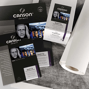 Canson 200002277 Baryta Photographique 310gr A3+ 25 hojas