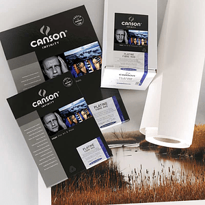 Canson 206211038 Platine Fibre Rag 310gr A3 25 hojas