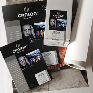 Canson 206211008 Edition Etching Rag 310gr A3+ 25 hojas