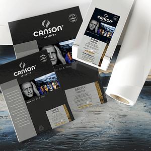 Canson 400083931 Baryta Prestige 340gr A3+ 25 hojas