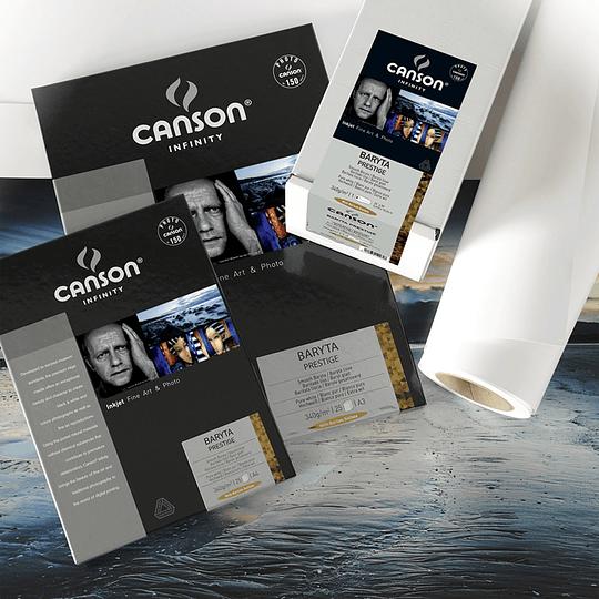 Canson 400083931 Baryta Prestige 340gr A3+ 25 hojas - Image 1