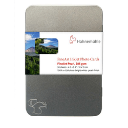 Hahnemuhle 10640772 FineArt Pearl 285gr Cards 10x15 cm 30 hojas