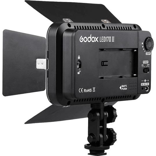 GODOX LED170II PANEL DE 170 LEDS CON ALETAS PARA DSLR - Image 2