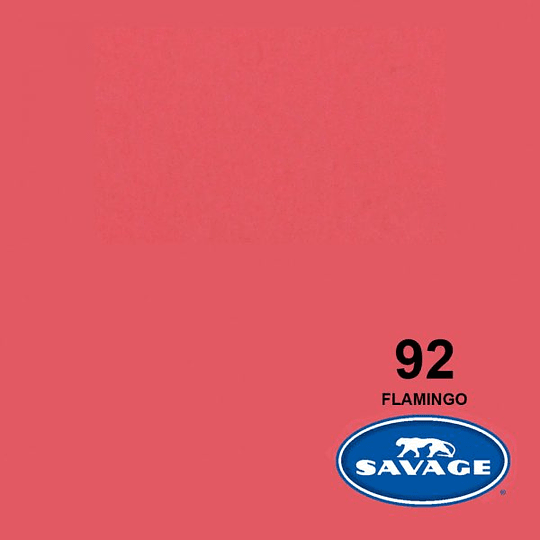 Savage Fondo de Papel #92 Flamingo (1,35x11m) - Image 1