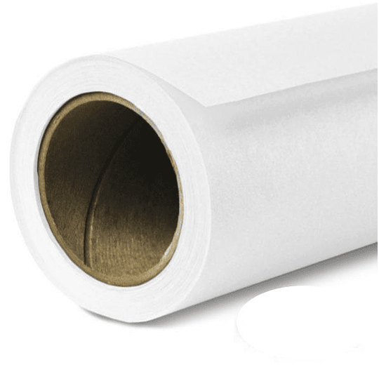 BD Company BD-129-A-2 Fondos de Papel Super White (1,35x11m)  - Image 1