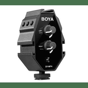 Boya BY-MP4 Adaptador de Audio