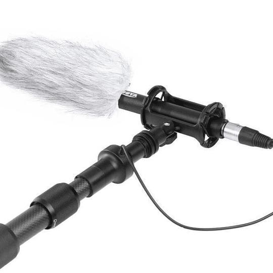 Boya BY-PB25 Caña de Fibra de Carbono 2.5m Con Cable XLR Incorporado  - Image 5