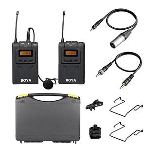 Boya BY-WM6 Micrófono Inalámbrico UHF Wireless