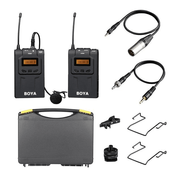 Boya BY-WM6 Micrófono Inalámbrico UHF Wireless  - Image 1