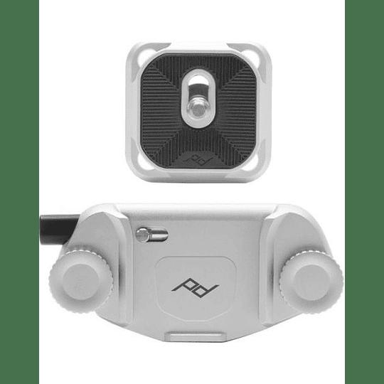 Peak Design CP-S-3 Clip para Capture v3 (plata)  - Image 1