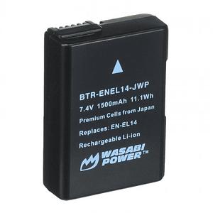 Wasabi Power BTR-ENEL14-DEC-JWP Batería ENEL14 para Nikon