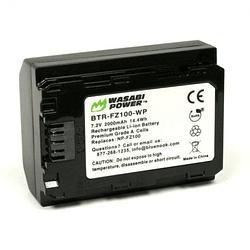 Wasabi Power BTR-FZ100-WP-02 Batería FZ100 para Sony