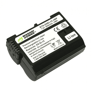 Wasabi Power ENEL-15 Batería para Nikon / ENEL-15