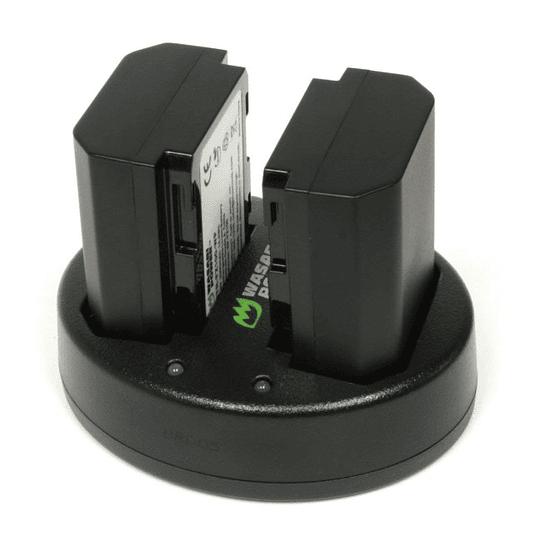 Wasabi Power KT-BB-FZ100-02 Pack de 2 Baterías con Cargador Doble para Sony NP-FZ100  - Image 2