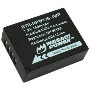 Wasabi Power NP-W126 Batería para Fujifilm / BTR-NPW126-JWP