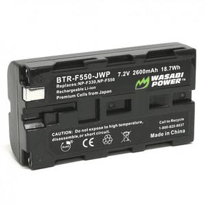 Wasabi Power NP-F550 Batería para Cámaras y Leds / BTR-F550-JWP