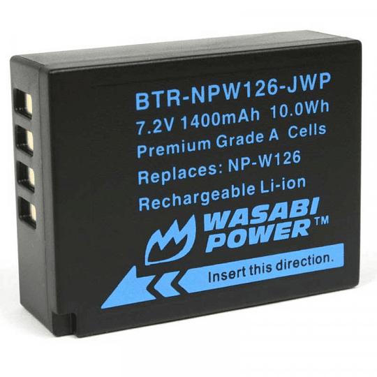 Wasabi Power NP-W126 Kit de Baterías y Cargador para Fujifilm / NPW126-01 - Image 2