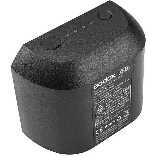 Godox WB26 Batería de Respuesto AD 600PRO  - Image 1