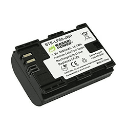 Wasabi Power LP-E6 Batería LP-E6 para Canon