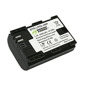 Wasabi Power LP-E6 Batería para Canon / LP-E6