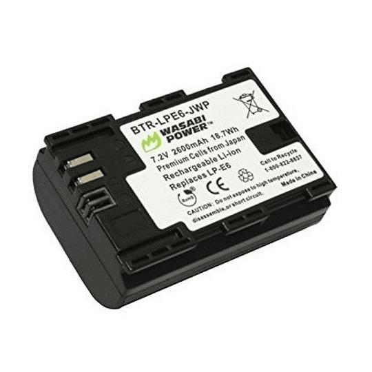 Wasabi Power LP-E6 Batería LP-E6 para Canon - Image 1