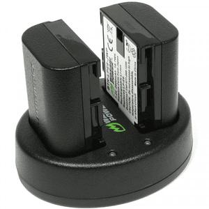 Wasabi Power KIT-BB-LPE6 KIT de 2 Baterías LP-E6 para Canon