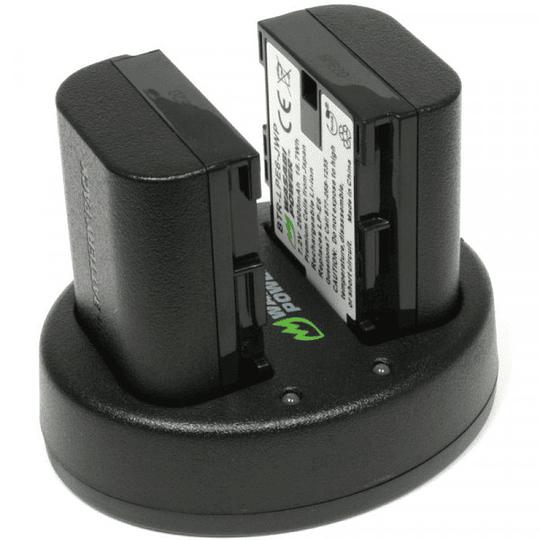 Wasabi Power KIT-BB-LPE6 KIT de 2 Baterías LP-E6 para Canon - Image 2