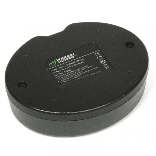 Wasabi Power KIT-BB-LPE6 KIT de 2 Baterías LP-E6 para Canon - Image 3