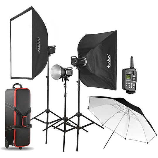 GODOX  MS300-D KIT FLASH DE ESTUDIO - Image 1