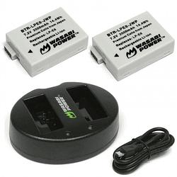 Wasabi Power LP-E8 Kit de Baterías y Cargador para Canon / KIT-BB-LPE8