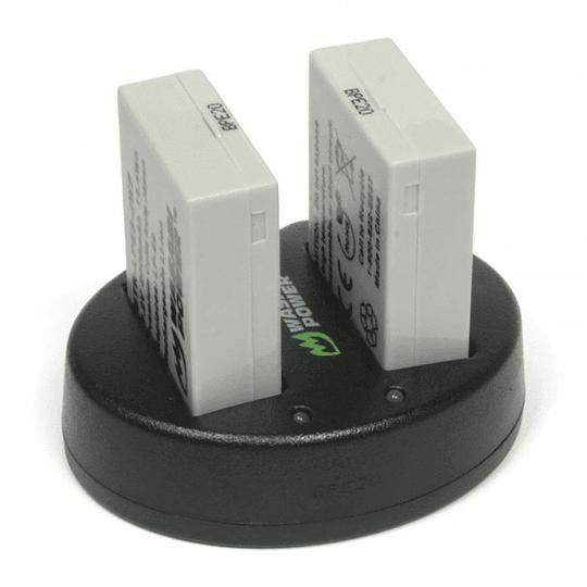Wasabi Power LP-E8 Kit de Baterías y Cargador para Canon / KIT-BB-LPE8  - Image 2
