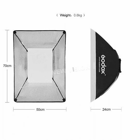 GODOX SB-MS-5070 SOFTBOX  50X70CM MONTURA BOWENS - Image 3