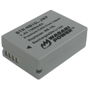 Wasabi Power NB-10L Batería para Canon / BTR-NB10L-JWP