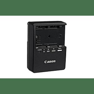 Canon 3348B001AA Cargador de bateria LC-E6 para LP-E6 Canon