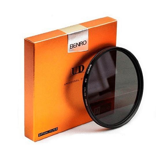 Benro Filtro Polarizados UD CPL HD  (desde 49mm hasta 82mm) - Image 1