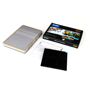 Benro MAND10001010 Filtro ND Solido de 10 Pasos Master ND1000 (3.0) 100x100cm