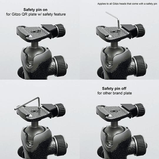Gitzo GK2542-82QD Mountaineer Series 2 Kit Trípode de Fibra de Carbono - Image 7