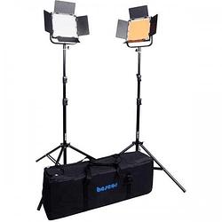 Bescor FP-900K Kit de Iluminación Bescor 2 Led Bi-Color y Control Inalámbrico