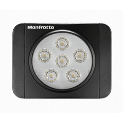 Manfrotto MLUMIEART-BK Lumimuse 6 On-Camera LED Luz (Negro)