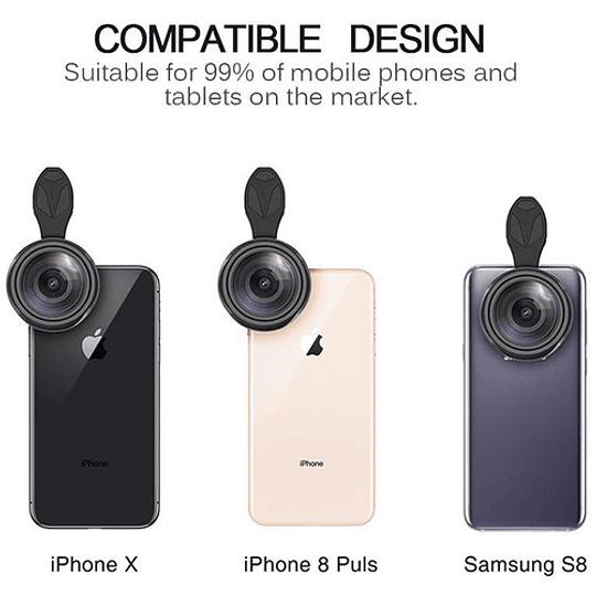 Apexel APL-15MM Lente Smartphone Gran Angular - Image 3