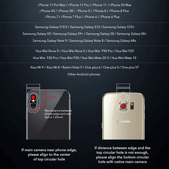 Apexel APL-36XJJ04 Lente Smartphone Super Zoom de 36X + Trípode y Control Remoto - Image 9
